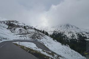 besneeuwde bergen Oostenrijk augustus 2018