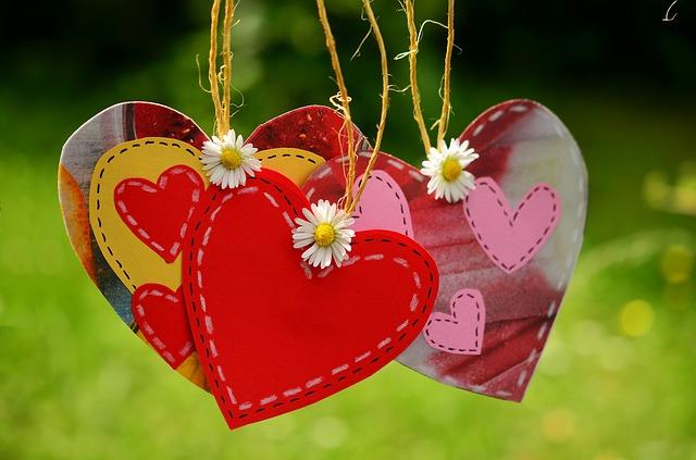 hart liefde respect aandacht Valentijnsdag