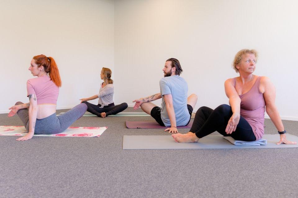 yoga ontspanning beeldschermen Veronique Velans